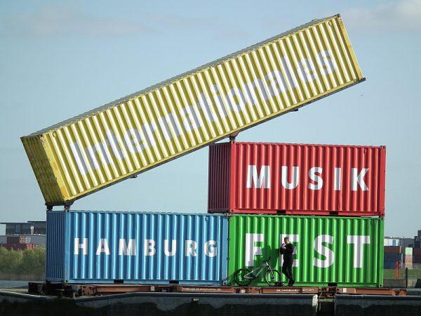 Bunte Container