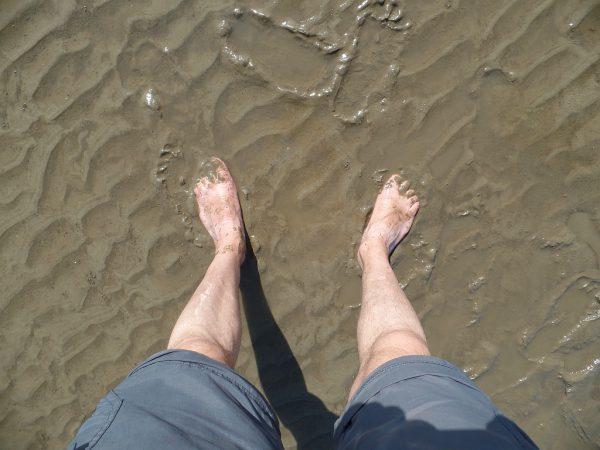 Meine Füsse im Watt